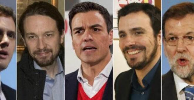 Los candidatos a las elecciones de este 20-D