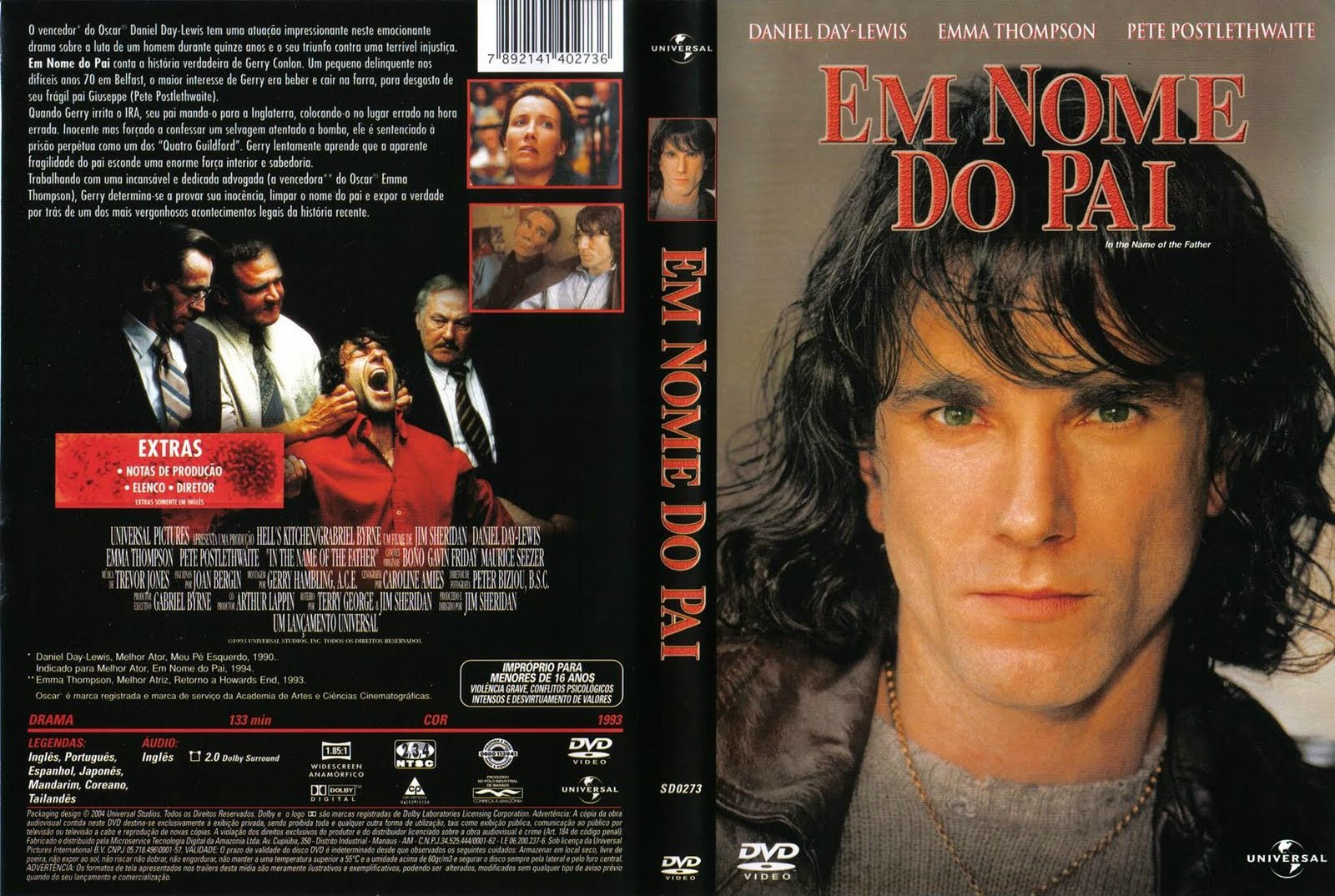 Em Nome Do Pai Torrent – BluRay Rip 720p Dual Áudio (1994)