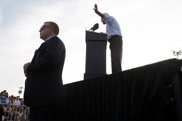Senator Bernie Sanders of Vermont campaigning in Washington last week. The District of Columbia holds its Democratic primary, the last one of the election season, on Tuesday.