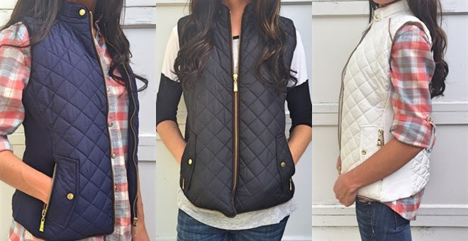 HOT!! Quilted Vest...