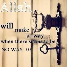 put trust Allah