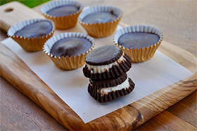 Dark Chocolate Coconut Cups