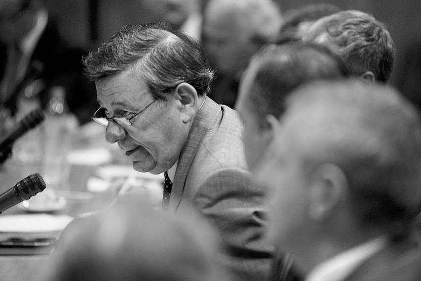 Rodolfo Nin Novoa, ayer, en la Comisión de Asuntos Internacionales de la Cámara de Diputados. Foto: Mauricio Kühne
