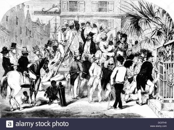 Trade in people 1700s-1850s-1856-sketch-of-slave-sale-in-charleston-south-carolina-DC0TH0