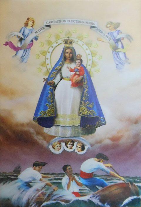 Imagen de Nuestra Señora La Caridad del Cobre, la patrona de Cuba