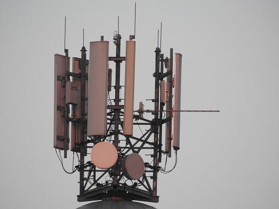 antenas de telefonía móvil a 360º