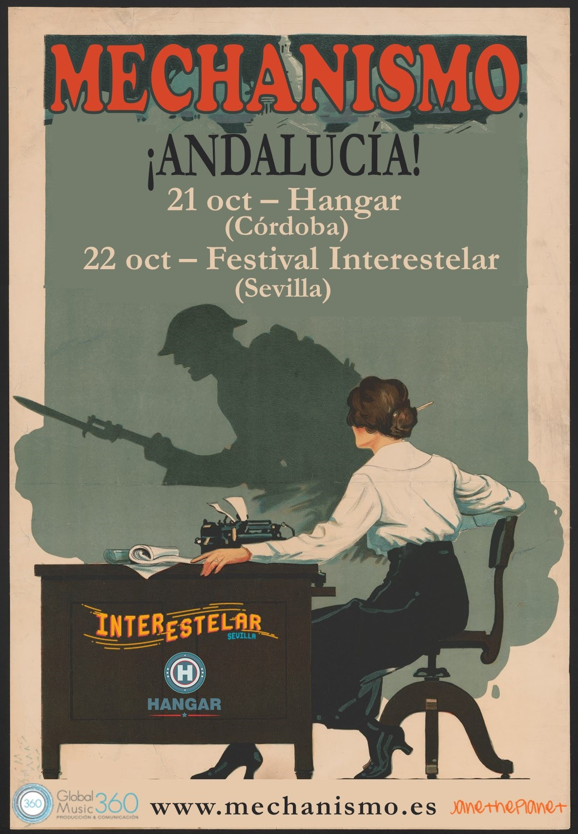 Conciertos de Mechanismo en Andalucia.