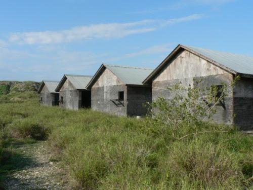 Instalaciones utilizadas como centros de Interrogación en los primeros días después de haberse abierto la prisión.