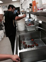 Let's Preserve 2014 - Culinary Students at work