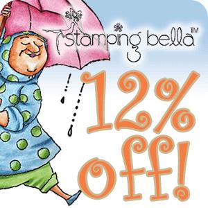 Get 12% off Stamping Bella!