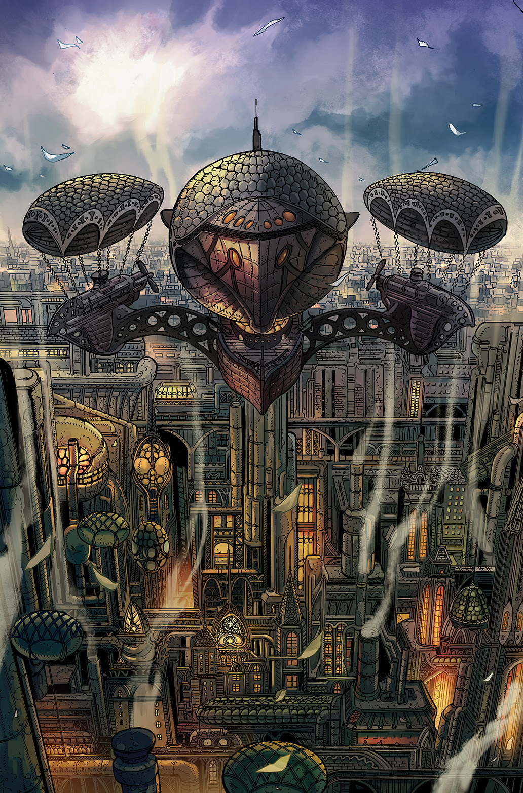 Lantern City #1 Jackpot Variant Cover