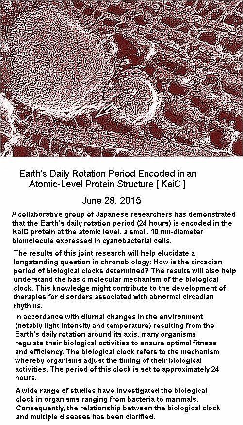 Earth rotation period encode