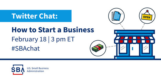 Twitter Chat: How to start a business