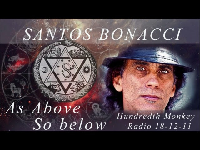 Santos Bonacci - The Hundredth Monkey Radio - As above so below  Sddefault