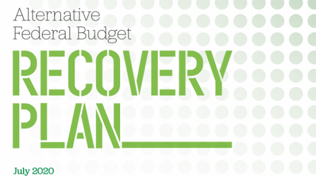 Web banner of AFB Recovery Plan