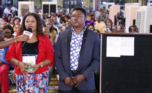 MRS FOLASHADE JEHOVASON & HUSBAND