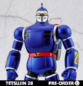 Tetsujin 28 Die-cast Tetsujin 28 Figure