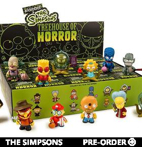 The Simpsons Treehouse of Horrors Mini Series Random Figure