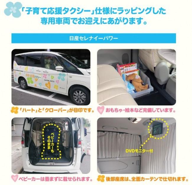 子育て応援タクシーの車種