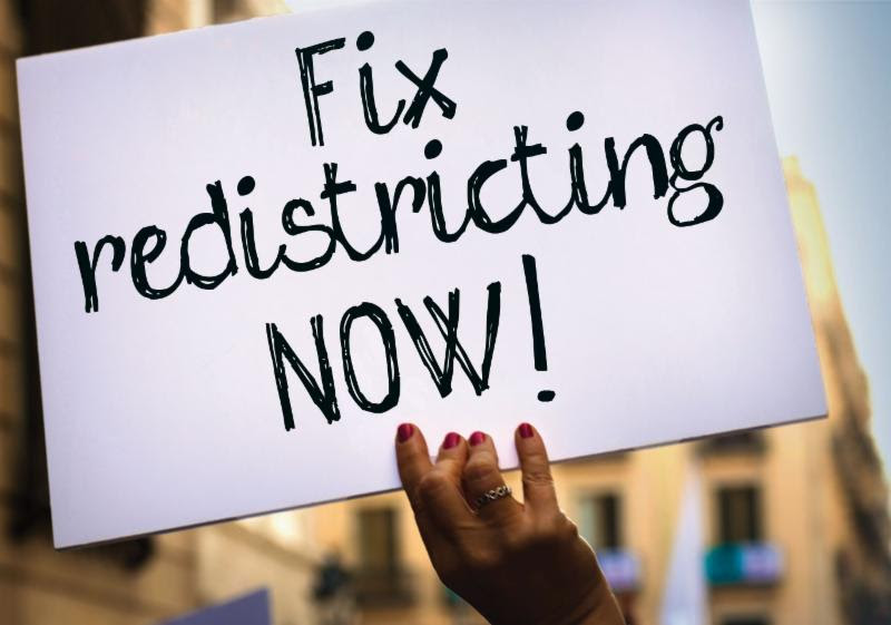 Fix redistricting now sign