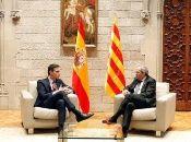 Pedro Sánchez y Quim Torra afrontan la primera reunión de la mesa de diálogo este miércoles.