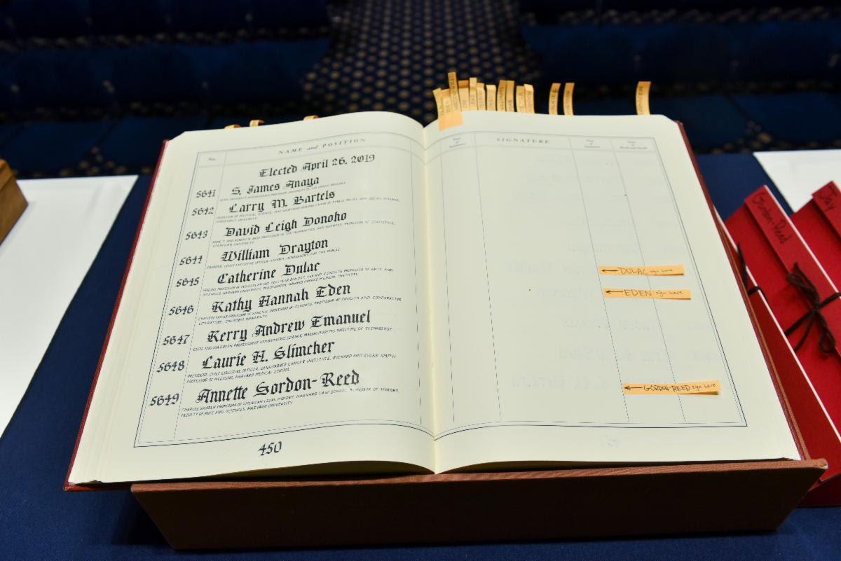 APS Members Roll Book