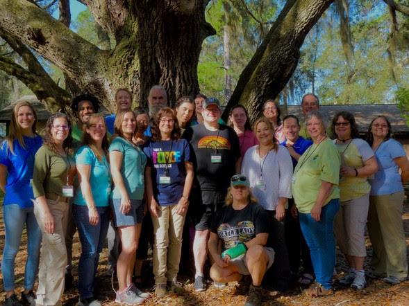 Project WILD facilitators Group Photo Feb. 2019