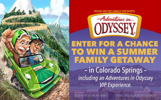 Adventures in Odyssey Summer Family Getaway