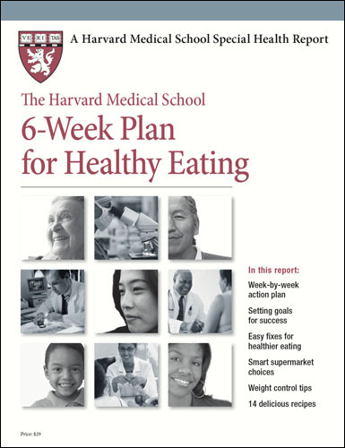 Product Page - The Harvard Medical School 6-Week Plan for Healthy Eating