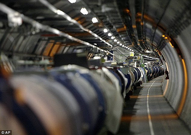 The superconductor experiment suggests that the Higgs particle could be detected without the huge amounts of energy used at by the Large Hadron Collider (pictured)