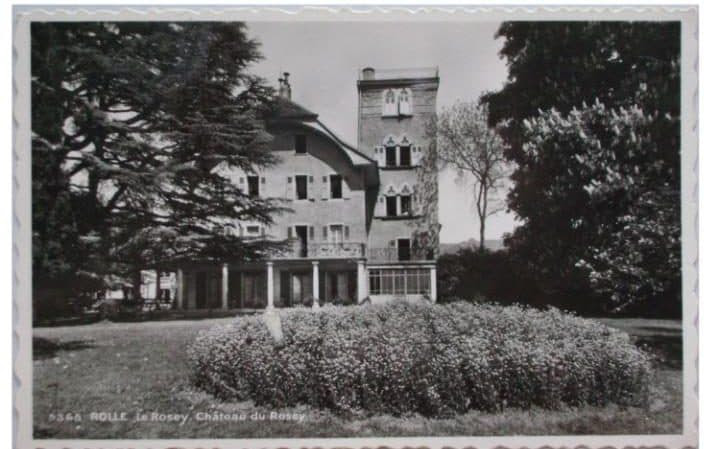 Le Rosey, the school in Switzerland where Phillips taught English