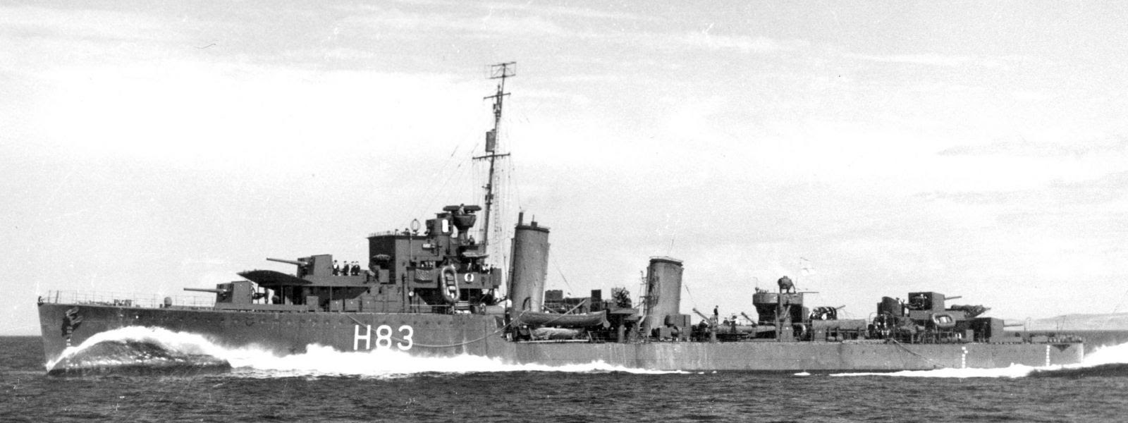 Sister ships take part in evacuations