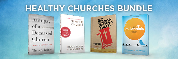 Get all 4 books for a healthy church for just $30. Limited time only.