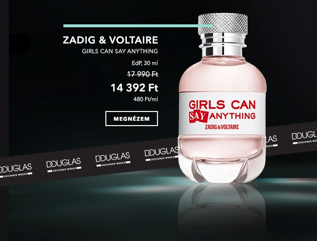 Designer Weeks -  Zadig&Voltaire Girls Can Say Anything