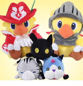 CHOCOBO & KINGDOM HEARTS PLUSH