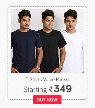 Tshirts value packs