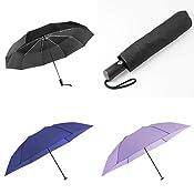 【梅雨対策】丈夫で大きい折りたたみ傘と軽量100gの折りたたみ傘がお買い得