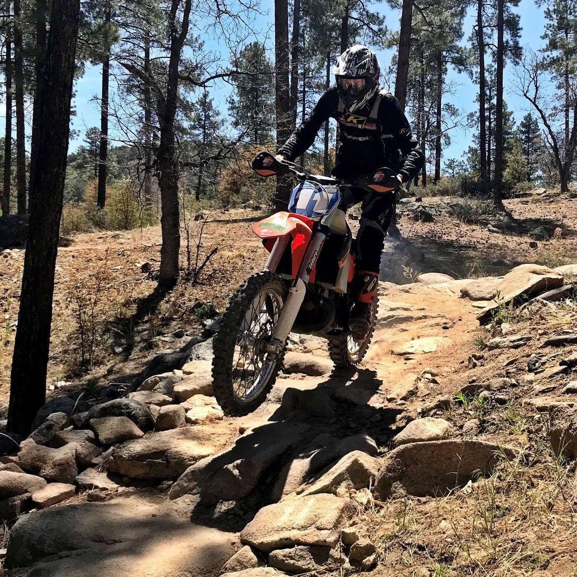 Geoff Chain Riding