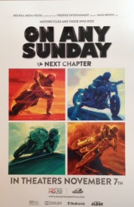 De Keyrel Racing is helping to promote the premiere of RedBull Media House : On Any Sunday- The Next Chapter