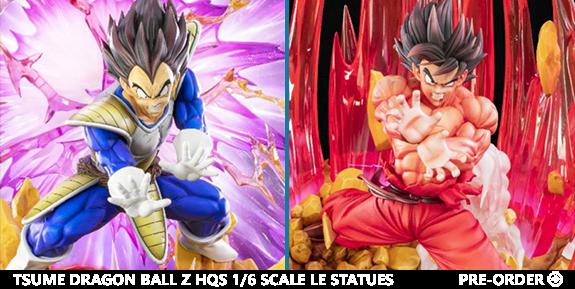 Dragon Ball Tsume Statues