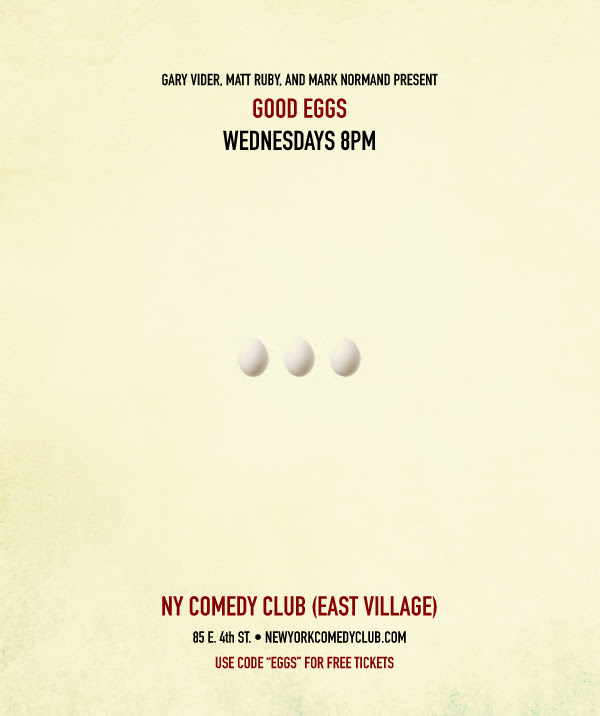 good eggs nyc comedy clubs