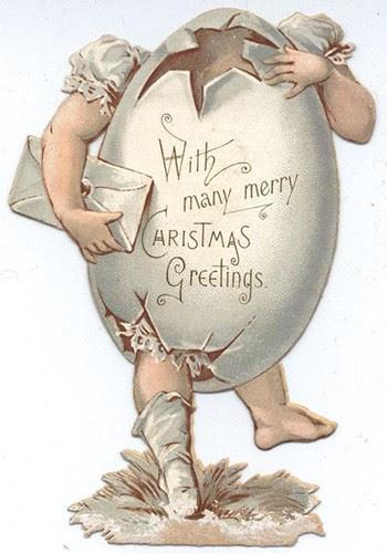 Quả trứng Giáng sinh kinh dị này sẽ khiến người yếu bóng vía khóc thét.