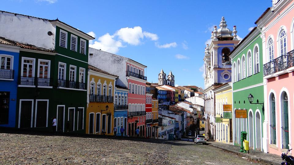 El Salvador, Brasil, Pau-Brasil, Salvador De Bahia