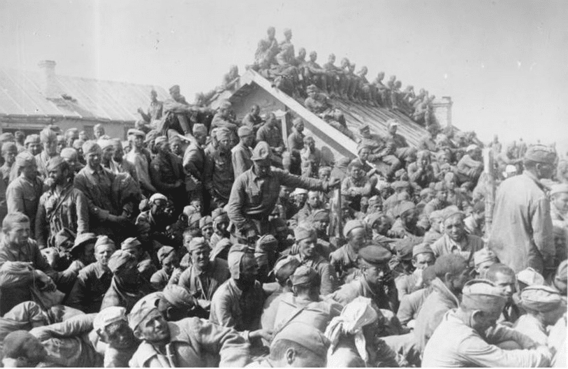 17. The mortalityrate for POWs in Russian camps was 85 percent.