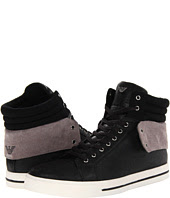 See  image Armani Jeans  High Top Contrast Sneaker