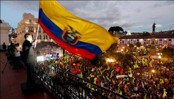 Foto: Facebook de la presidencia de Ecuador.