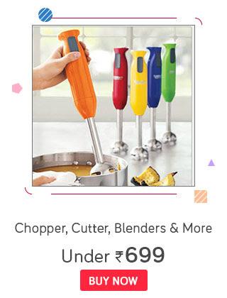Chopper, Cutter, Blenders & More