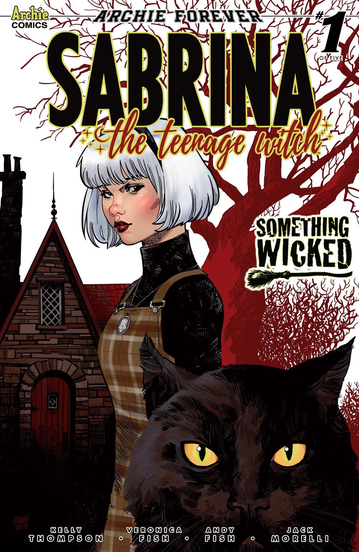 SABRINA: SOMETHING WICKED #1: CVR E Stewart