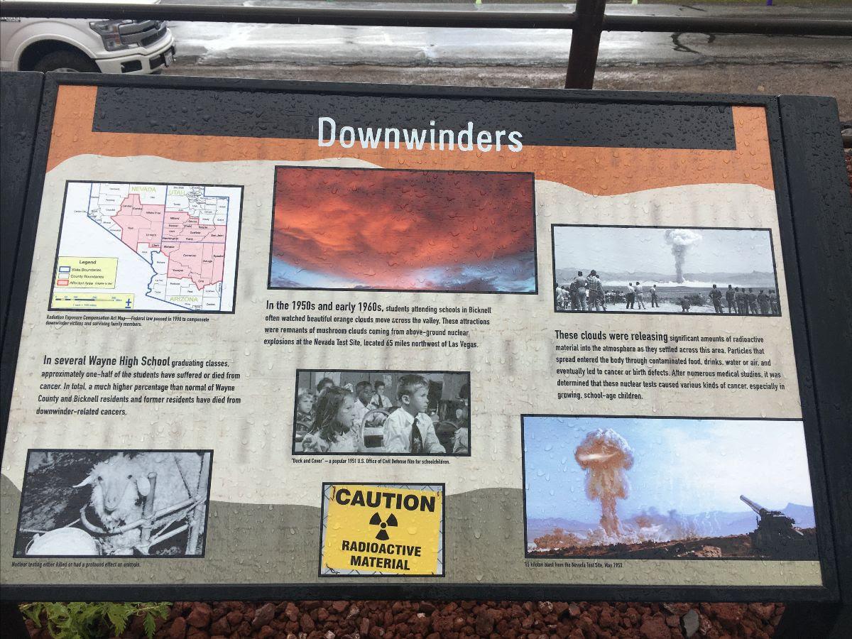 Bicknell Utah Downwinders History