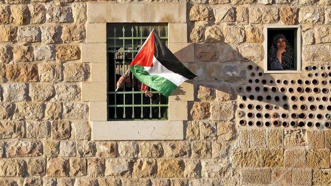 Por los derechos de los palestinos: un amuleto para la esperanza
